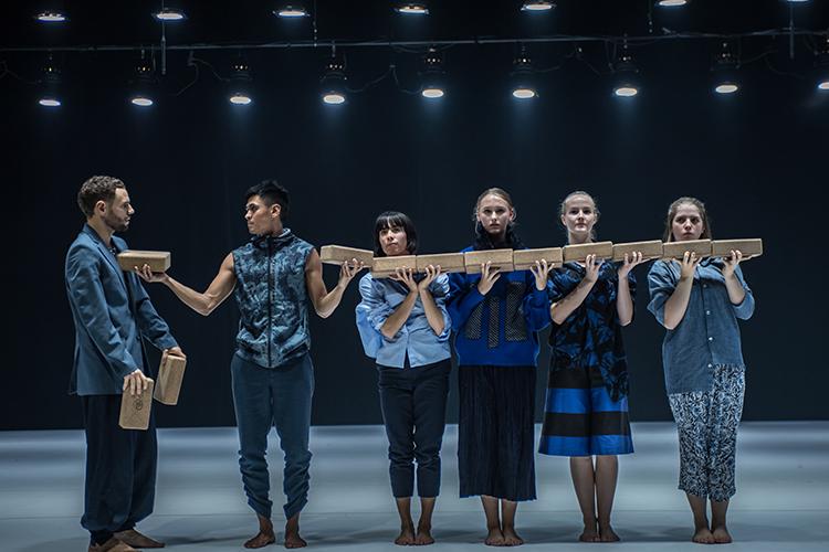 Photo: Antero Hein  Choreography:  A/WAY  by Shintaro Oue  Bærum Kulturhus 2018