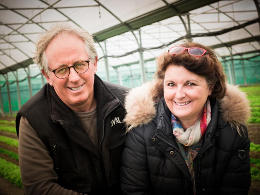 Hervé et Catherine Huitric - Vegetable Farmer - Pays de la Loire