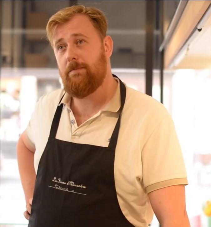 Alexandre - Cheesemaker- La Ferme d Alexandre - Ile-de-France