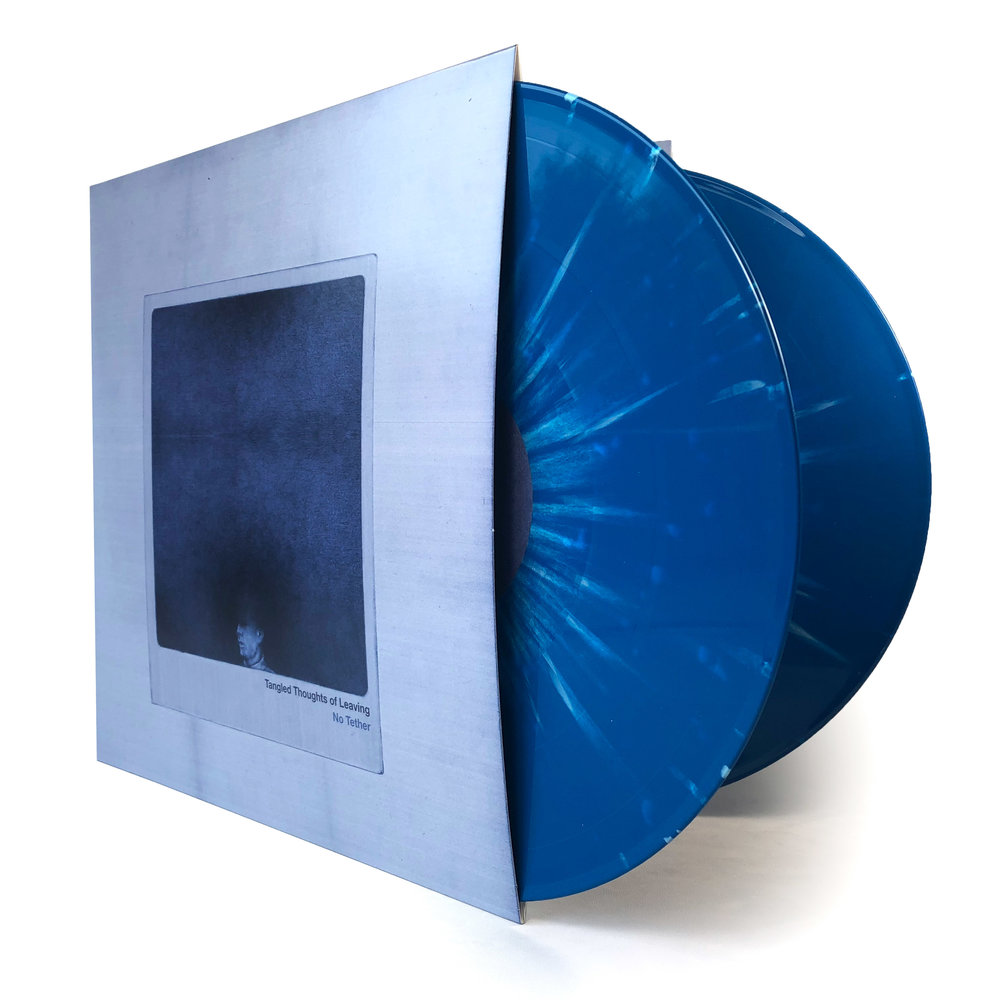 No Tether [2xLP] - Comes on 180g double colored or black vinyl.