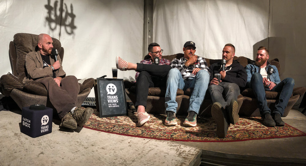 Transviews interview at dunk!festival 2018