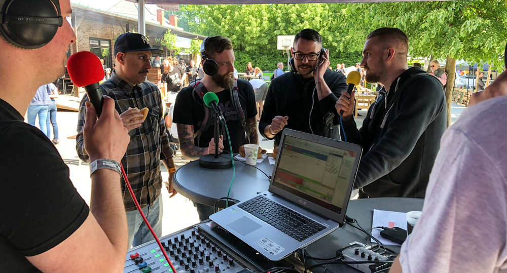New Musical Horizons interview at dunk!festival 2018
