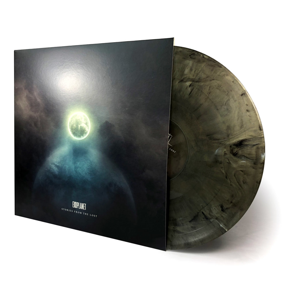 Stories From The Lost • Exoplanet [LP] - Comes on 180g vinyl in two limited color editions.