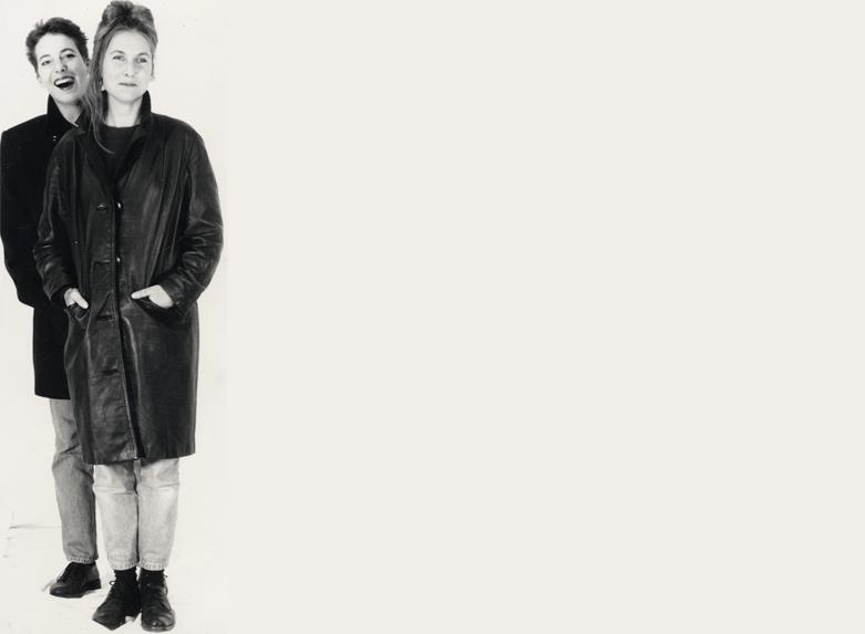 """""""Femail"""" - 1994 Zusammenarbeit mit der Schmuckdesignerin Eva Bruggmann unter dem Label """"Femail""""."""