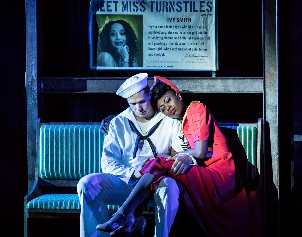 Samuel Edwards and Miriam-Teak Lee as Ozzie and Claire. Photo Johan Persson..jpg