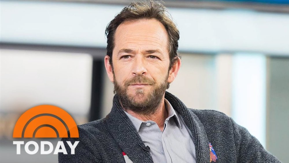 Luke perry interviewed on 'today' -