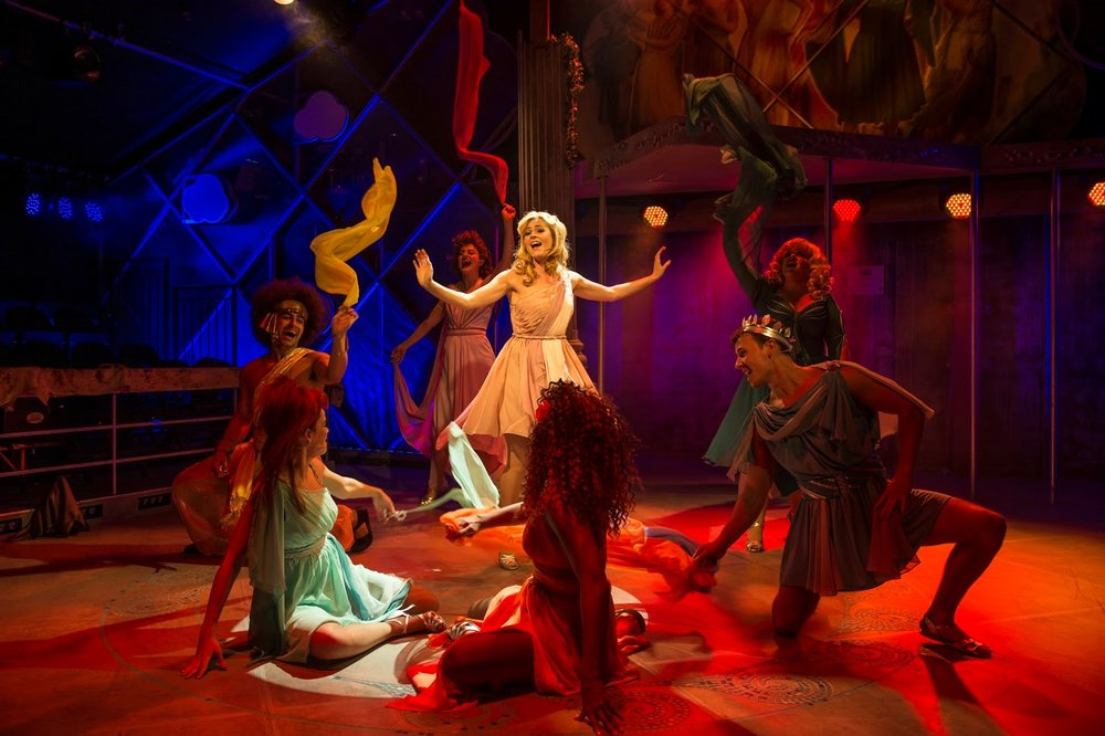 Carly Anderson and the company of Xanadu.jpg