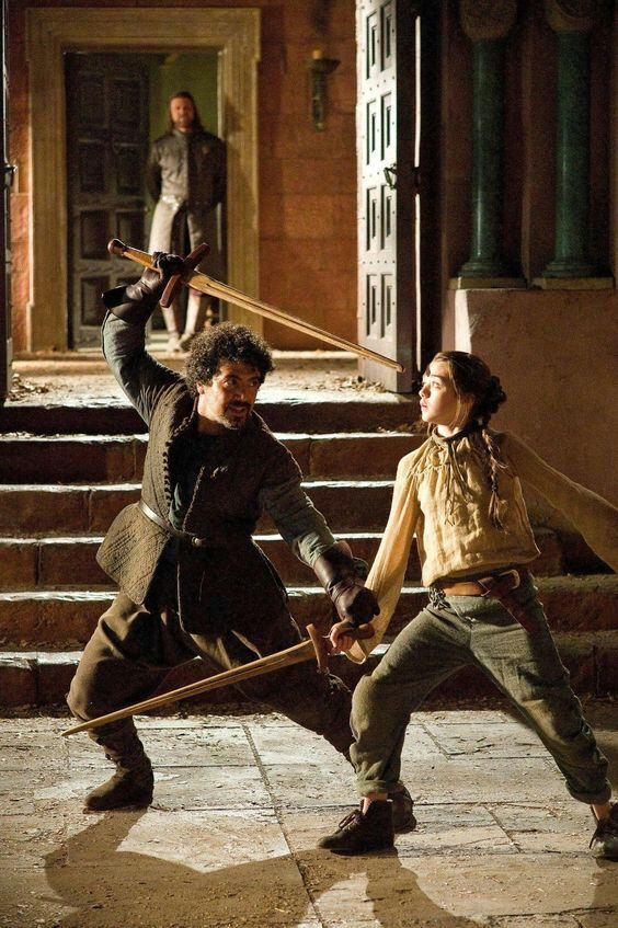 MILTOS YEROLEMOU IN GAME OF THRONES - Miltos Yerolemou played the iconic regular character Syrio Forel in the first season of 'Game Of Thrones'.