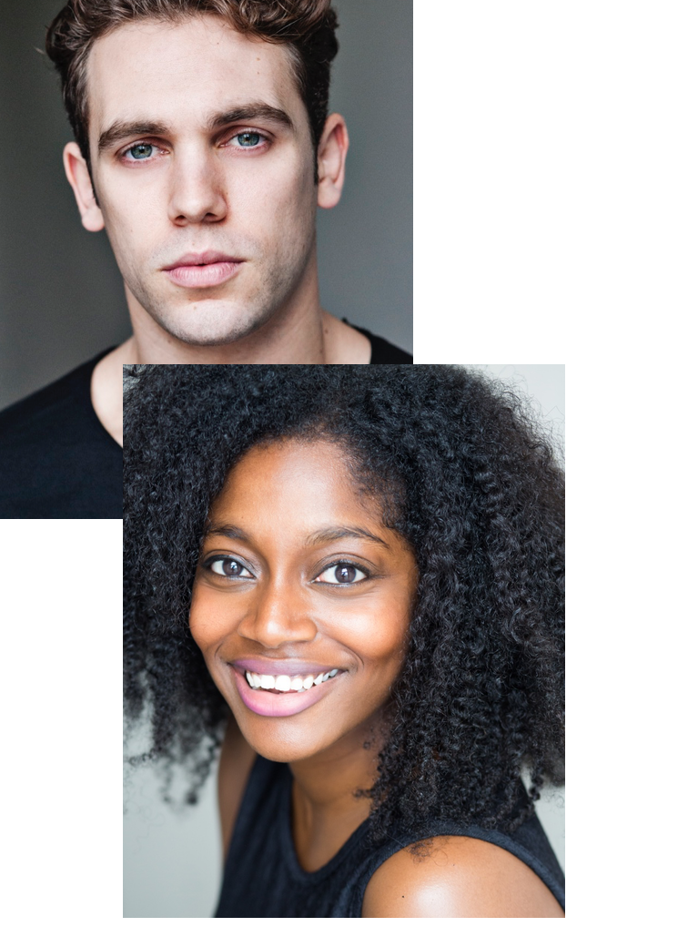 ARETHA AYEH AND BILLY CULLUM IN LYRIC HAMMERSMITH - Aretha Ayeh and Billy Cullum have starred in the recent production Leave to Remain, at the Lyric Hammersmith.