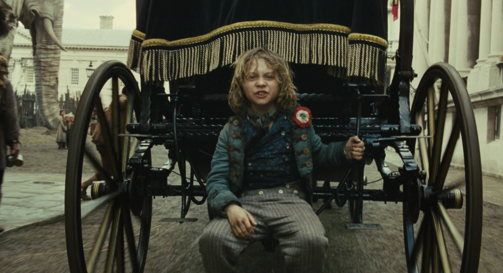 Gavroche in les miserables -
