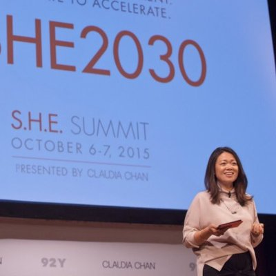 Claudia Chan - Founder S.H.E Summit and S.H.E Globl Media