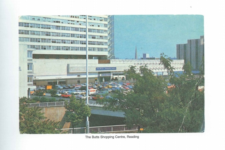 The Butts Shopping Centre - 'Boring Postcards' edited by Michael Parr