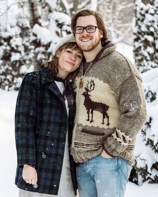 Oh hey, just us taking advantage of our roommate and and getting a pic in the fresh snow outside our house.  #lifestyle #lifestylephotography #instalove #love #capturelove #photographers #mnphotographer #minnesotaphotographer #mnlife #capturemoments #momentstogether #memories #photosession #risingtidesociety #portraits #portraitphotography #shotwithlove #couples #couple #realmoments #photographylife #photooftheday #connection #passion #couplesphotography