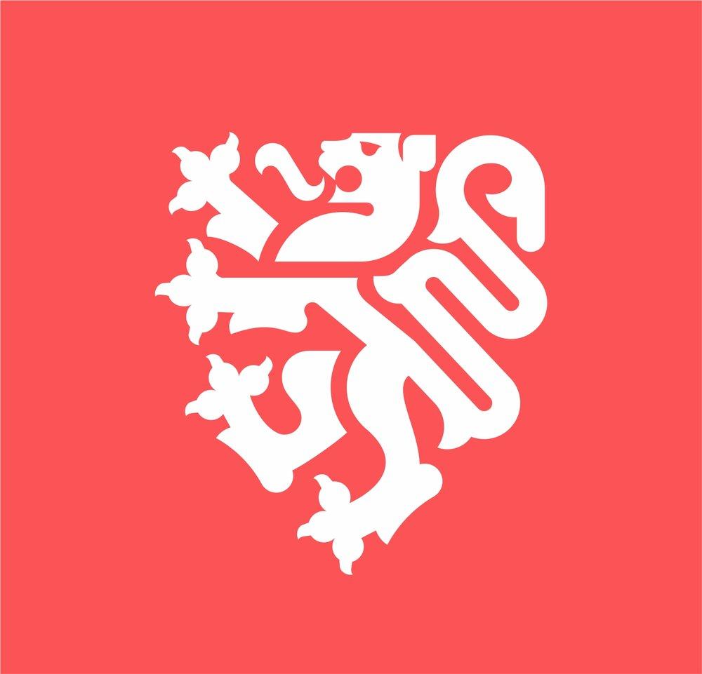 Shield lion logo for Perrier Jablonski - Canada, Veronika Žuvić