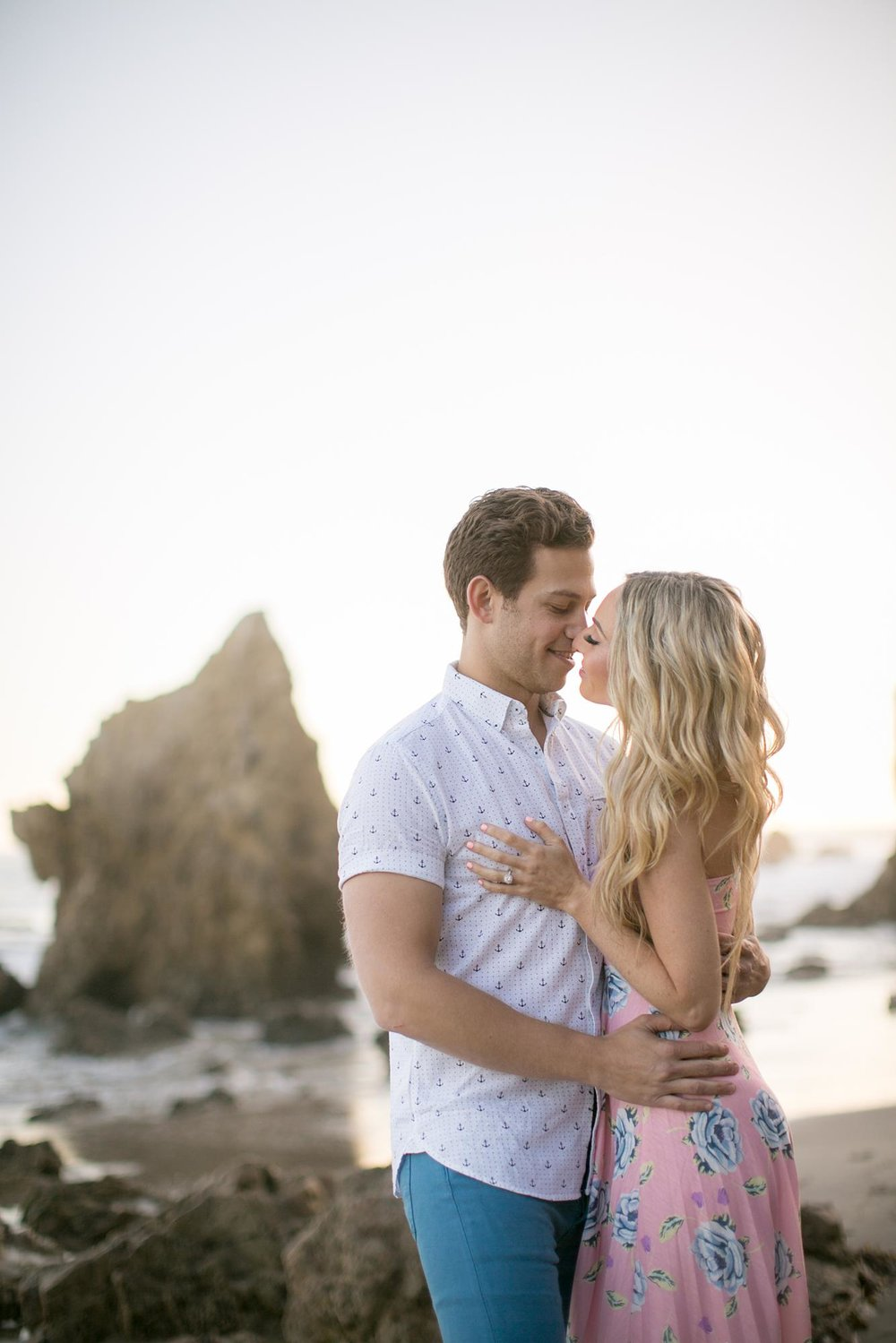 El Matador Beach Engagement | Miki & Sonja Photography | mikiandsonja.com