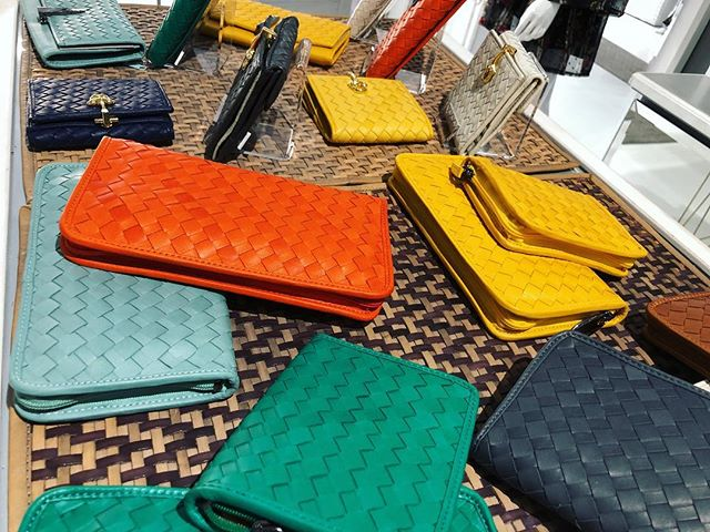 New in: wallets wallets and more wallets ☺️ 40% off now. #IlFiorentino #FirenzeInNYC