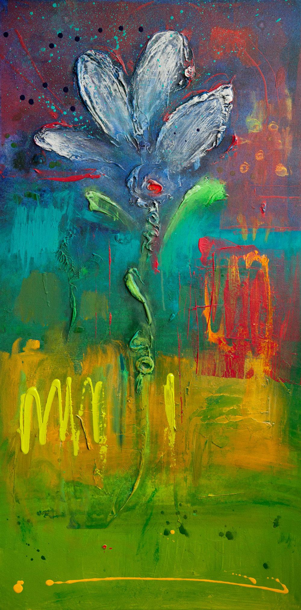 Tall Flower (1), 2015