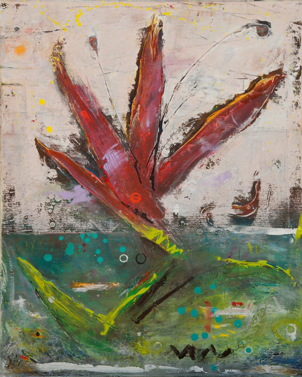 Island Lily, 2013 - SOLD
