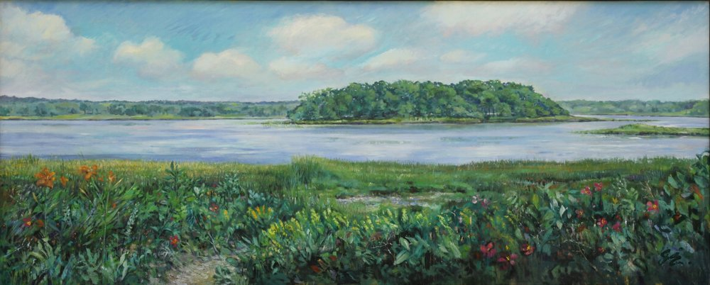 West Branch with View of Great Island, 2018 - SOLD