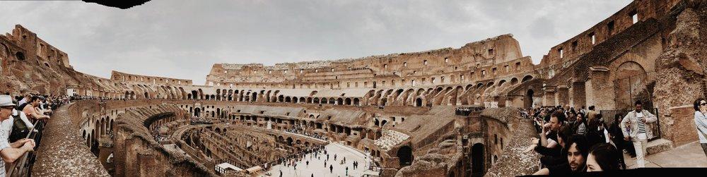 The Colesseum, Rome