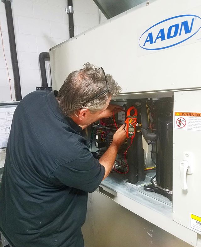 Glad to have Jim back! #aaon #hvac
