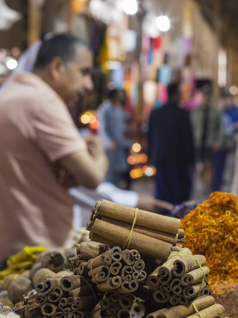 Dubai Souks - Gold, hand-woven fabrics, spices, fragrances and more. You'll find it all at Dubai's Arabian markets.