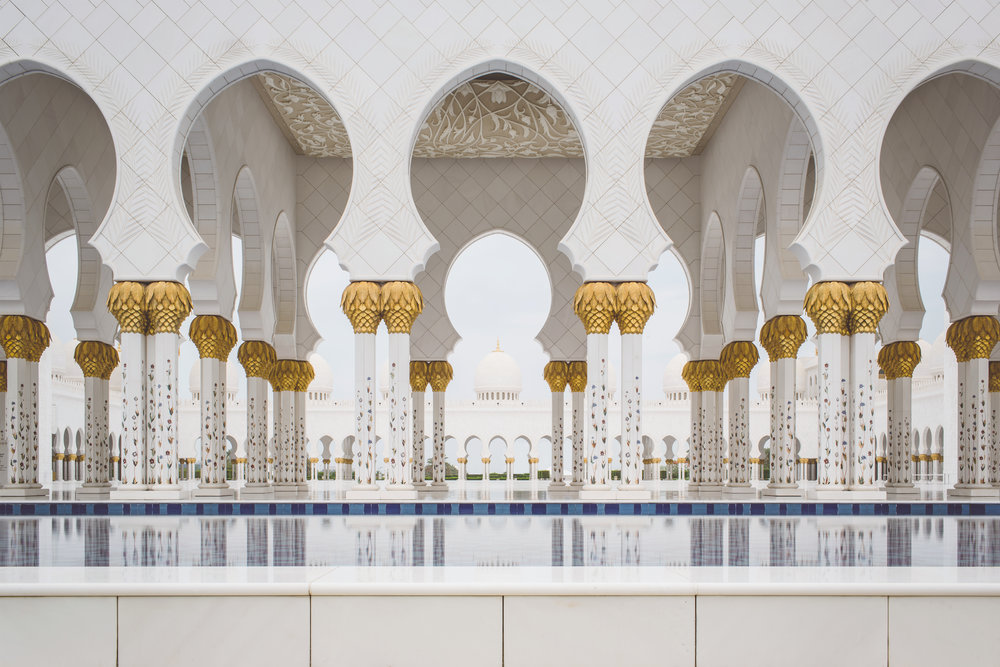 Sheikh Zayed Grand Mosque - A trip Dubai wouldn't be complete without a visit to the largest mosque in the country,
