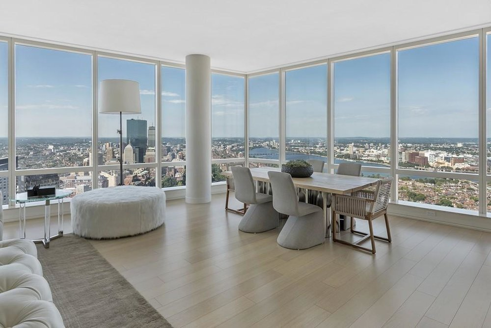 1 FRANKLIN ST. #5302 - 1 Franklin Street, 5302, Price: $8,000,000, 3 Beds | 4 Baths | 1 Half Bath Approximate Sq. Feet: 3,172