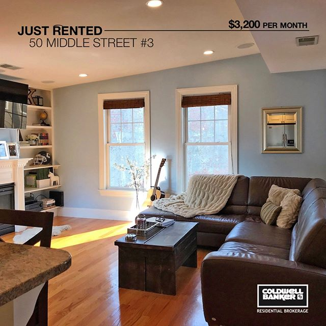 Another great Southie home leased at asking price to a great tenant. Lucky to have great clients that own great rental properties- makes my job easier!  #southie #southieagent #barkarealestate #coldwellbanker #rented #bostonrealestateagent #boston #luxuryrentals