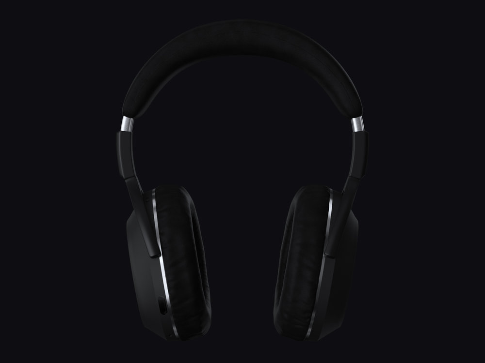 Front shot of the headphones