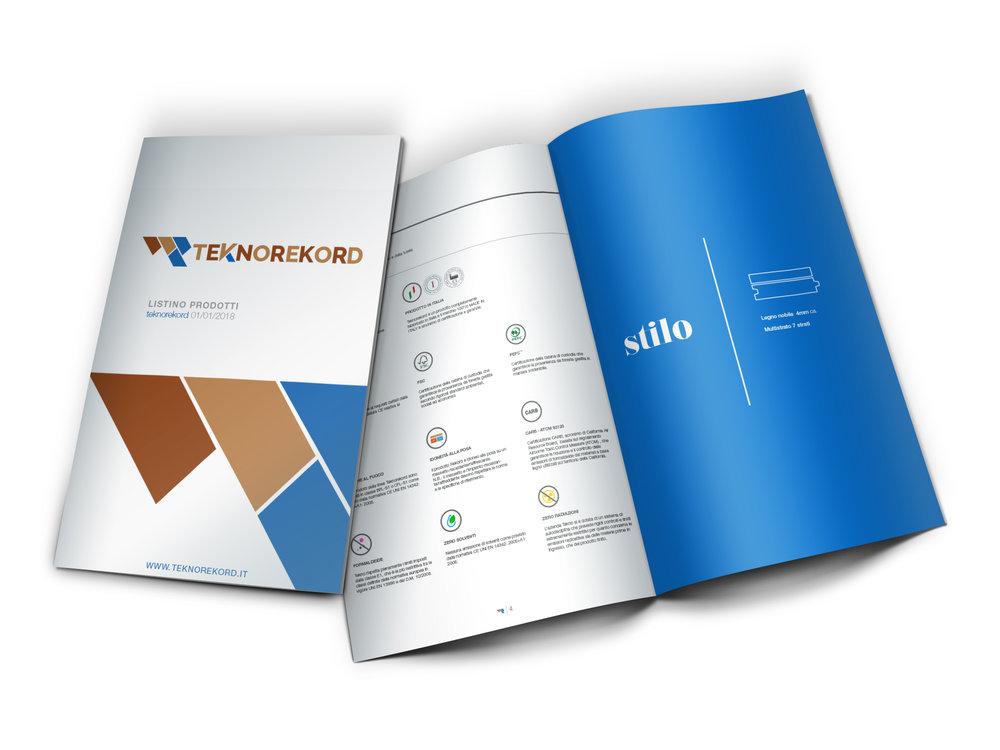 ↑ Fig.8 Catalogo Prodotti Teknorekord.