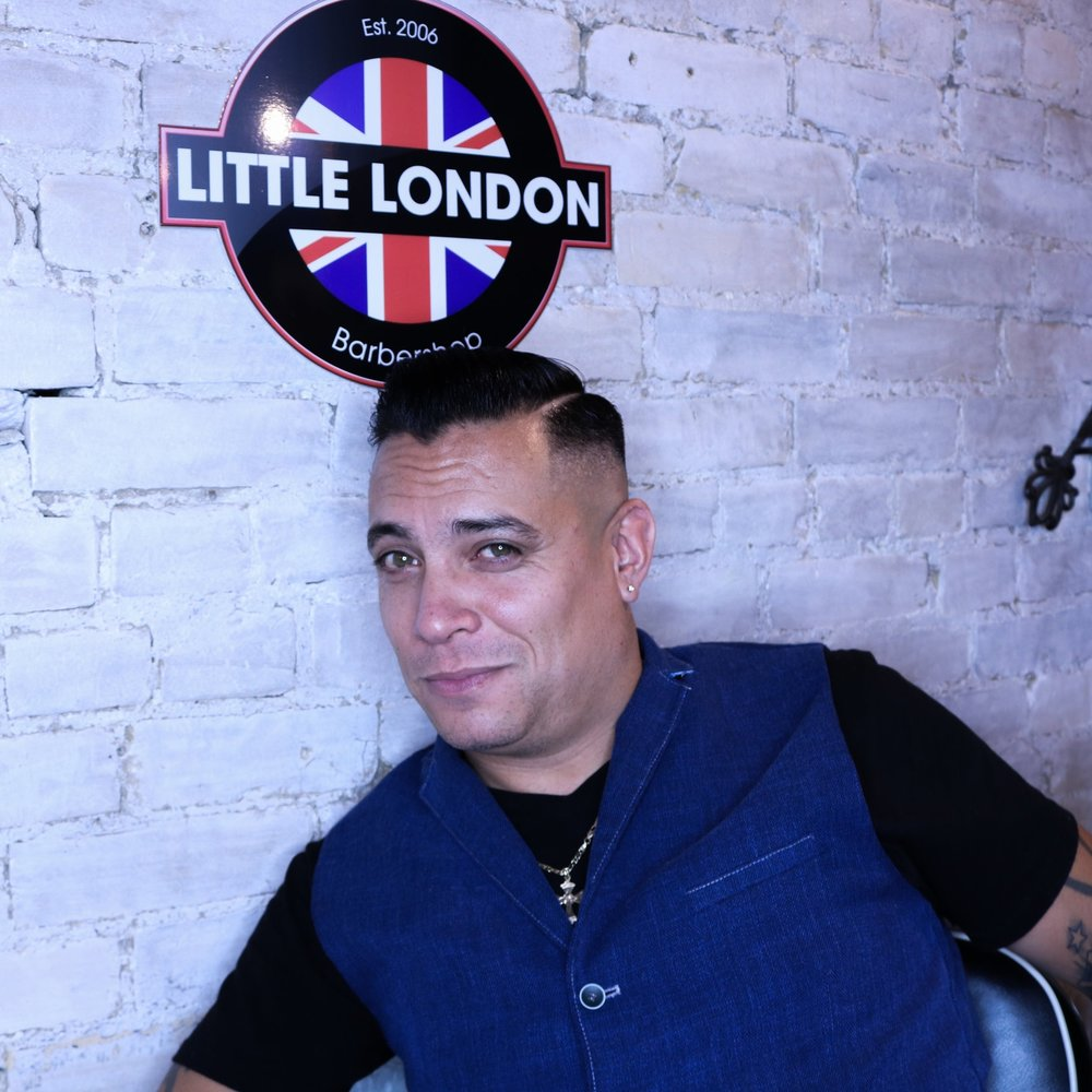 NIGEL, Owner and Master Barber    East York: Tues-Sat    Leslieville: Sun (but not every)    St. Lawrence Market - starting Nov 30    From end of November and all of December will be thurs and Fri and occasional Sat