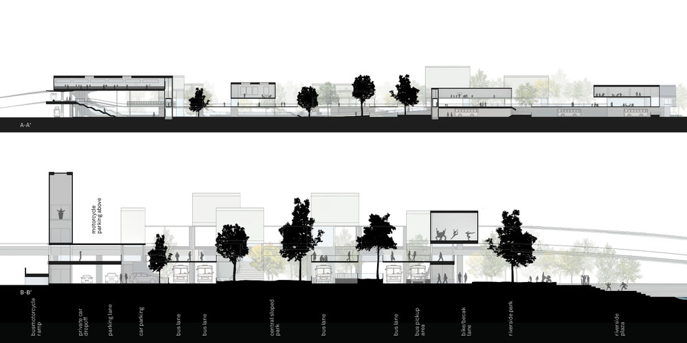 Urban Follies Section A Proposal for a New Angkot Depot, Claudia Bode