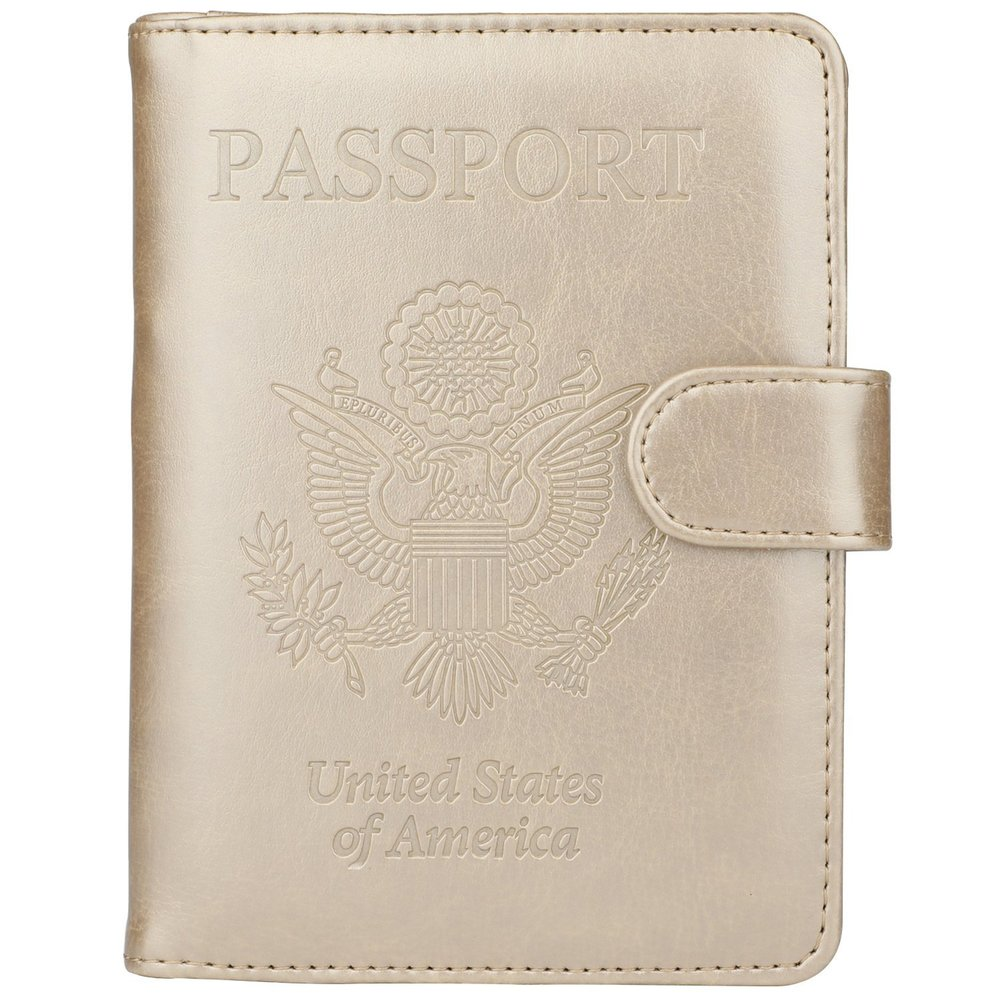 4. Travel Wallet - GDTK Passport Holder & RFID Blocking Travel Wallet