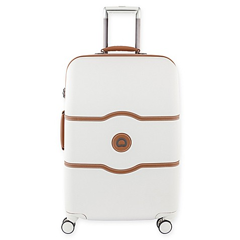 8. Quality Luggage - Delsey Luggage Chatelet Hardside 28in Spinner Suitcase