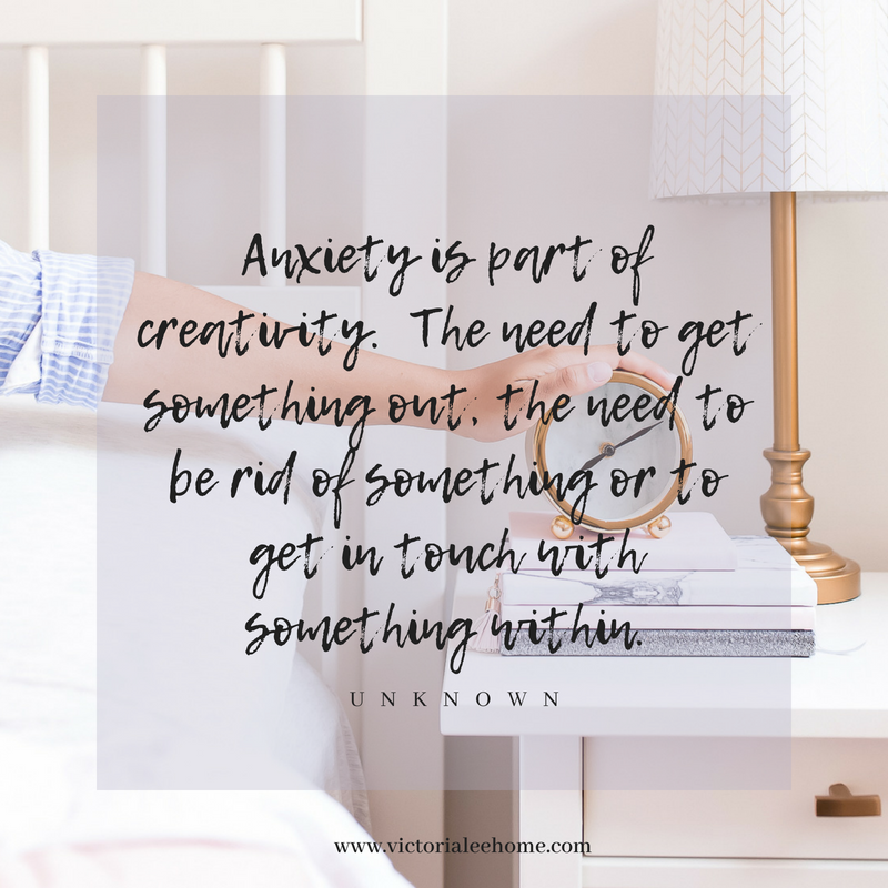 Anxiety is part of creativity. The need to get something out, the need to be rid of something or to get in touch with something within..png