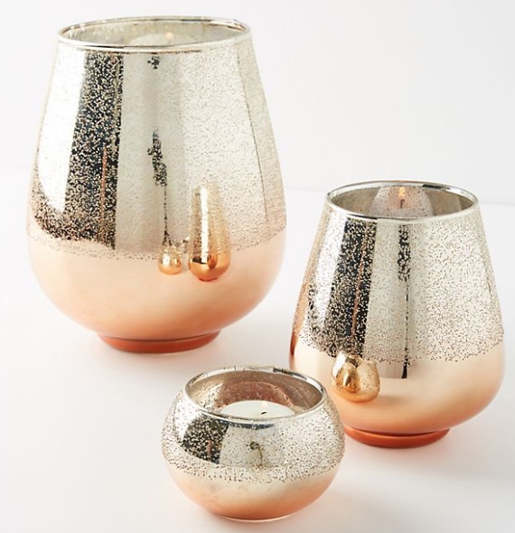 Anthropologie Coppered Hurricanes