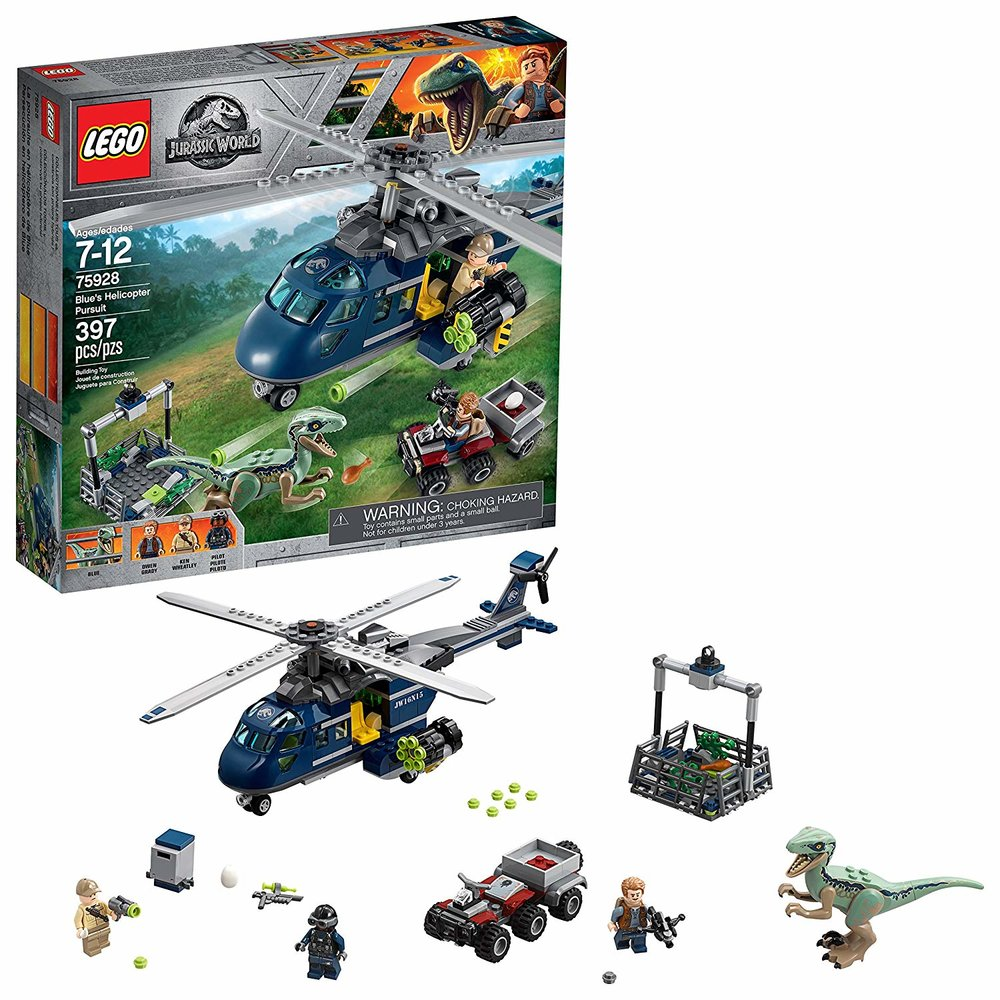 Jurassic World Helicopter Pursuit