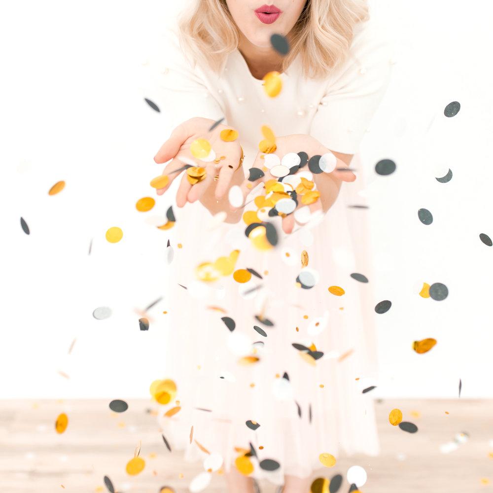 Birthday confetti