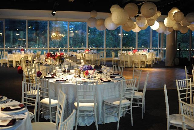 •a large perk of our event spaces is that there is a rain plan space for both a ceremony and reception. if your reception was supposed to be on the terrace, the south gallery is the back up option!•