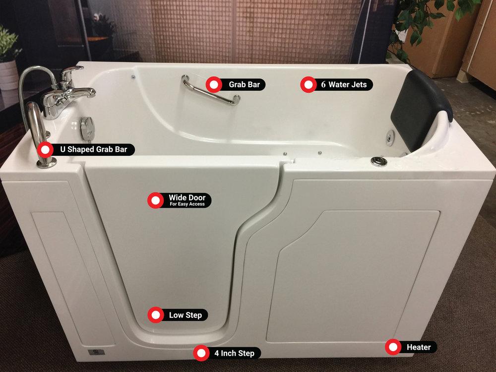 American Quality Walk-In Tub