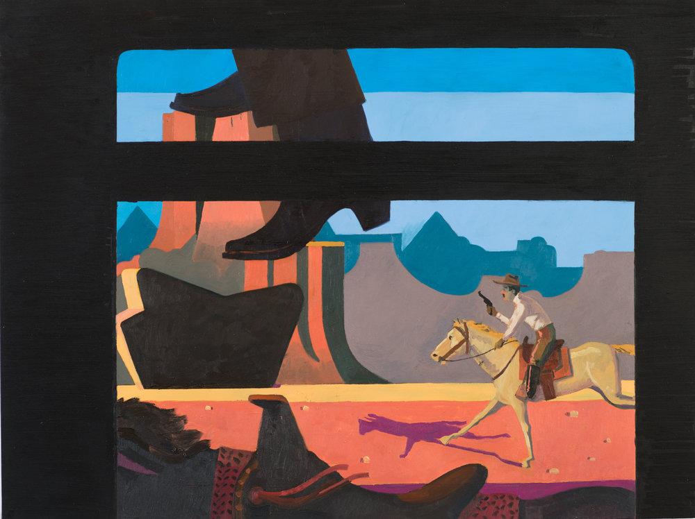 The Train Robbery, scene 1