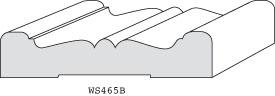 """WS465B - 3/4"""" x 3-1/2"""""""