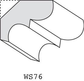 "WS76 - 5/8"" x 1-3/8"""