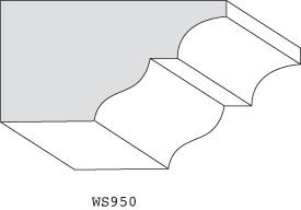 "WS950 - 1-3/8"" x 2-1/2"""