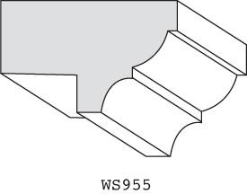 "WS955 - 1-1/8"" x 1-3/4"""