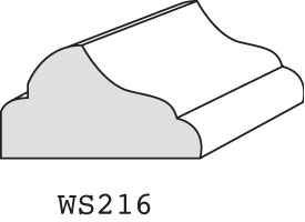 "WS216 - 9/16"" x 1-1/16"""