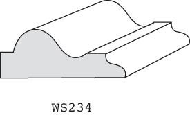"WS234 - 3/4"" x 2"""