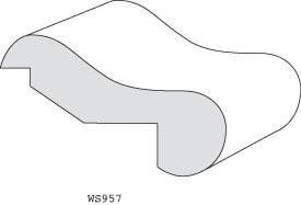 "WS957 - 1-1/8"" x 3-3/8"""