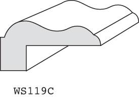"""WS119C - 3/4"""" x 1-1/2"""" (3/8"""" offset)"""